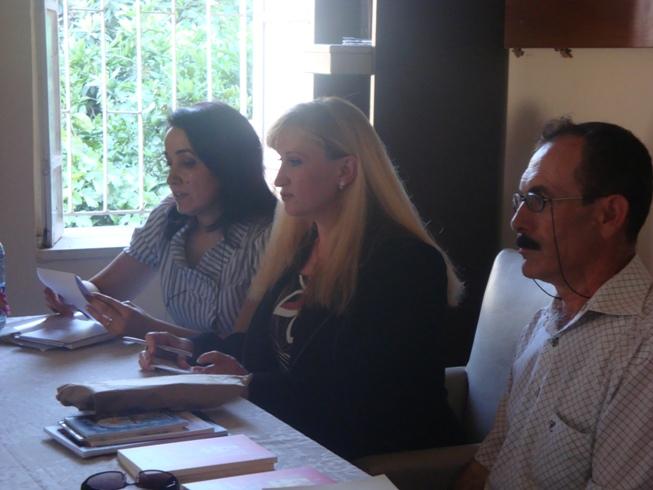 في أمسيتي الشعرية في تركيا مع المترجمين - صيف 2008