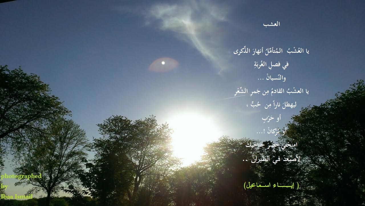 -قصيدة تفعيلة - العشب
